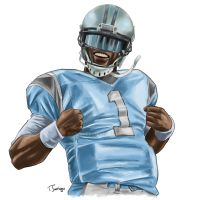 Cam Newton by 500LEVEL