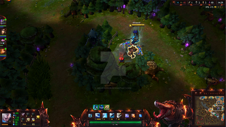 Scorched Earth Renekton League of Legends Overlay by Melificence