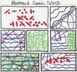 Abstract Comic Strip by GeneveveX