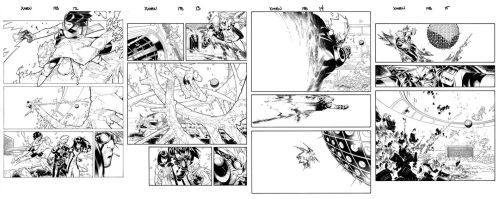X Men 198 pages by TimTownsend