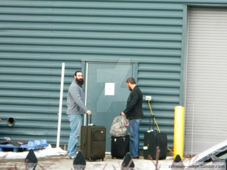 Luke Harper and Curtis Axel Candid by edgefan-talon