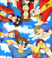 Our Digimon Day 2012.08.01 by NeoRuki