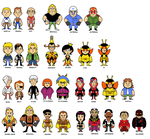 Venture Bros. Stickers ALL by DisfiguredStick