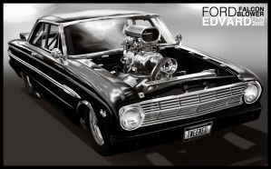 Ford Falcon Blower, reupload by dr-phoenix