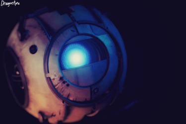 Wheatley - Portal 2 by DaisytheDragon