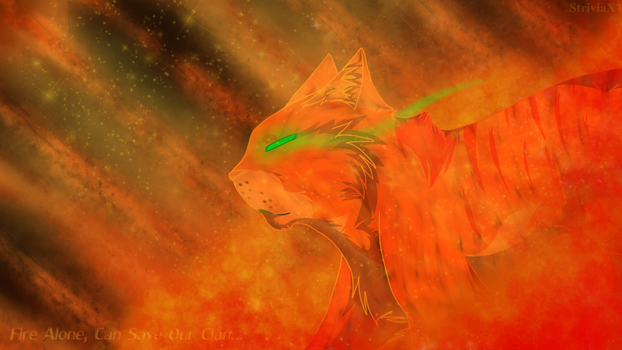 One Who Blazes Through The Forest by StriviaX7
