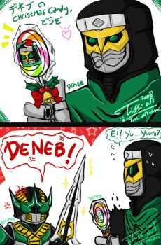 Deneb chrismas candy by Tc-Chan