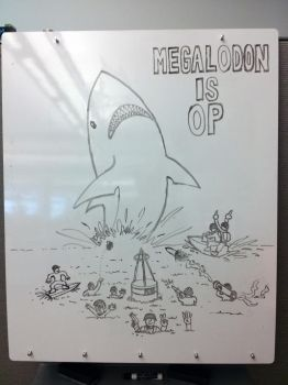 Megalodon is OP by chinopisces