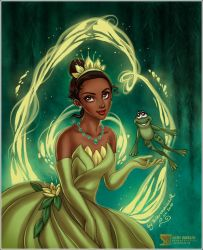 The Princess and the Frog by daekazu
