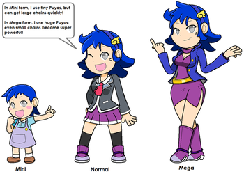 Maggie's Great Transformation Forms by JBX9001