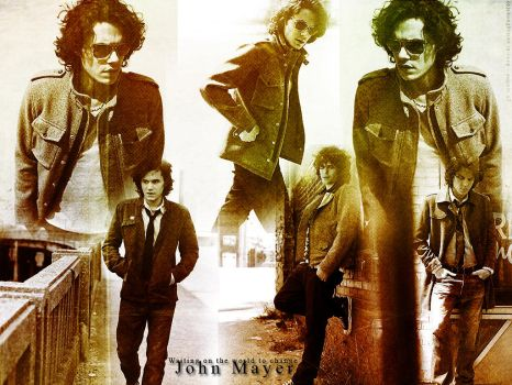 John Mayer Wallpaper by thoughtlessinlove