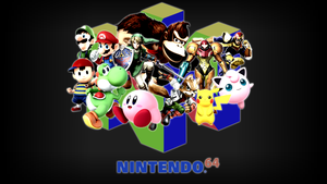 Super Smash Bros. Wallpaper VIBRANT (1920x1080) by CookedEmil