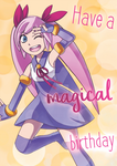 Magical Birthday by scribblingninja