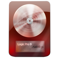 Deep Red Logic Pro Icon by Austin8159