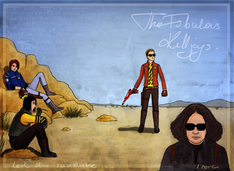 The Fabulous Killjoys by greatunknown