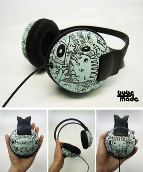 Urban headphones by Bobsmade