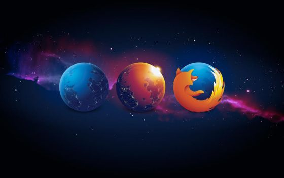 Firefox Nightly Aurora Wallpaper by oidoperfecto