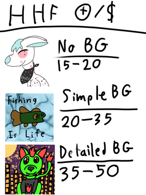 HHF Icon Commissions by ZoeChickenFarmer