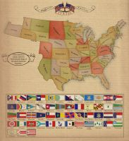 Flags of the American States by Alt-Reality