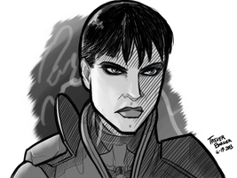 Man of Steel: Faora-Ul by FleckoGold