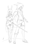 Twins Adoptable - Xillia and Axel  SOLD by Asgard-Chronicles