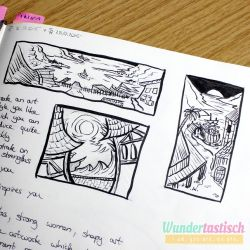 Thumbnail sketches for DnD campaign by Wundertastisch