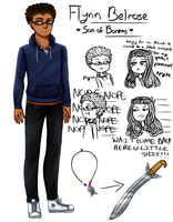 PJO OC | son of Boreas by withwingsthatfly