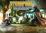 STEAMPUNK WARLORDS by caturchandra