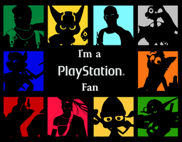 PlayStation -I'm a Fan- Wallpaper series by spdy4