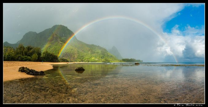 Tunnels Rainbow by aFeinPhoto-com