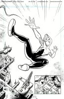 Spider-Gwen Ink Page 5 by Hominids