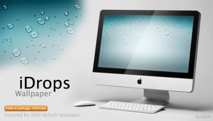 iDrops Wallpaper by nyolc8
