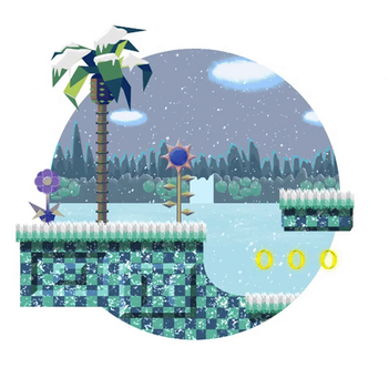 Pocket Green Hill Zone: Winter Encore by Rootay