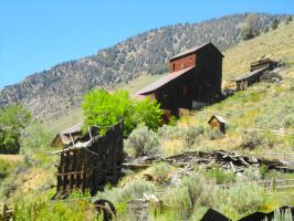 The old Bayhorse mine 1 by Pwesty