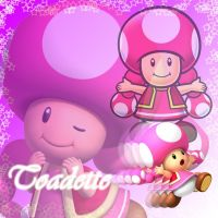 Toadette Photoshop Background by toadettefangirl