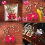 more Sailor Moon keychains! by VialofFire