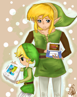 Link Between Worlds + Wind Waker HD by To0nLink