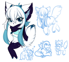 Sharla doodles by OMGProductions