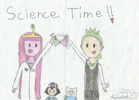 It's Science Time! by Animebot25