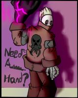 Need A Hand? by Sarconis-the-Artist