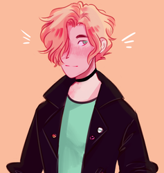 Aaron ((Commission)) by soyochii