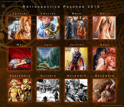Year 2015 Psychee Art by psychee-ange