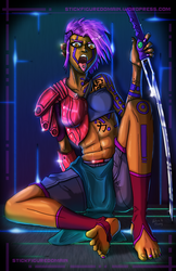Neon Dreams - Gang CyPunk by Stickfigure5000