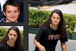 David Gonzalez mixed with Elijah Wood by moschdev