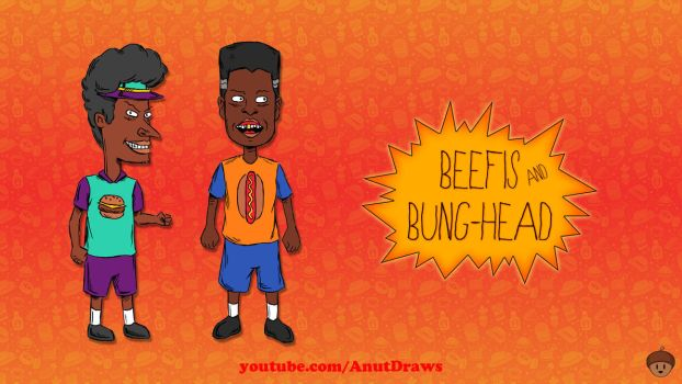 Beefis and Bung-Head by AnutDraws