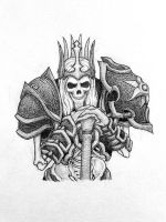 King Leoric /Diablo3 /Heroes of the Storm by GlasiaHecate