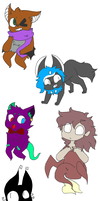 Sticker Gifts For Friends (Part 1?) by SpookySherbs