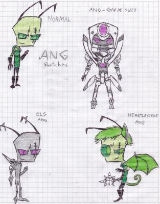 Ang - Sketches by IrkenPainter