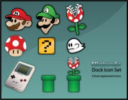 Dock Icon Set VI by willylorbo