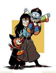The Pilaf Gang by RachelOrdwayArt